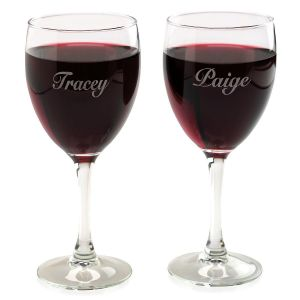 Customized Individual Wine Glass