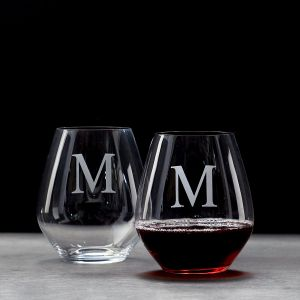 Stemless Tumbler Personalized Wine Glass
