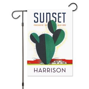Cactus Personalized Garden Flag