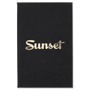 Sunset Logo Journal