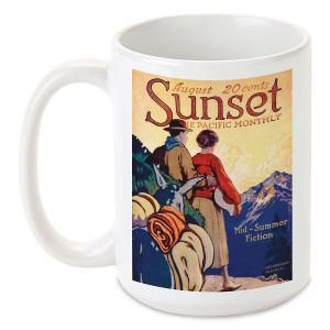 Mountain Pass Personalized Mug