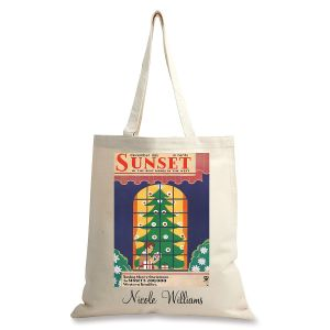 December 1933 Personalized Canvas Tote