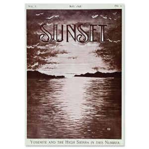 Sunset Magazine Poster: May 1898 - View from Oakland