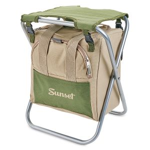 Foldable Garden Seat With Tools