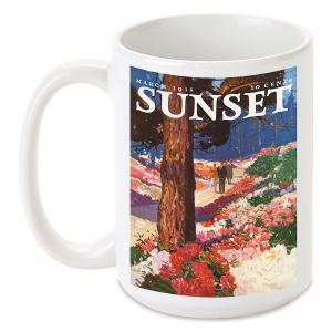 Park In Bloom Personalized Mug