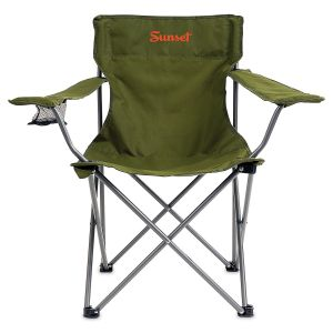 Green Camping Foldable Chair
