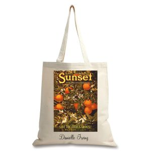 Citrus Groves Personalized Canvas Tote