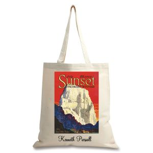 Great White Throne Personalized Canvas Tote