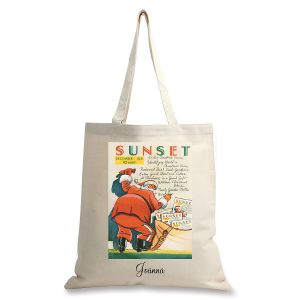 December 1931 Personalized Canvas Tote