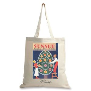 December 1932 Personalized Canvas Tote