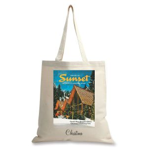 February 1965 Personalized Canvas Tote