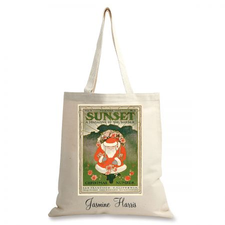 December 1902 Personalized Canvas Tote