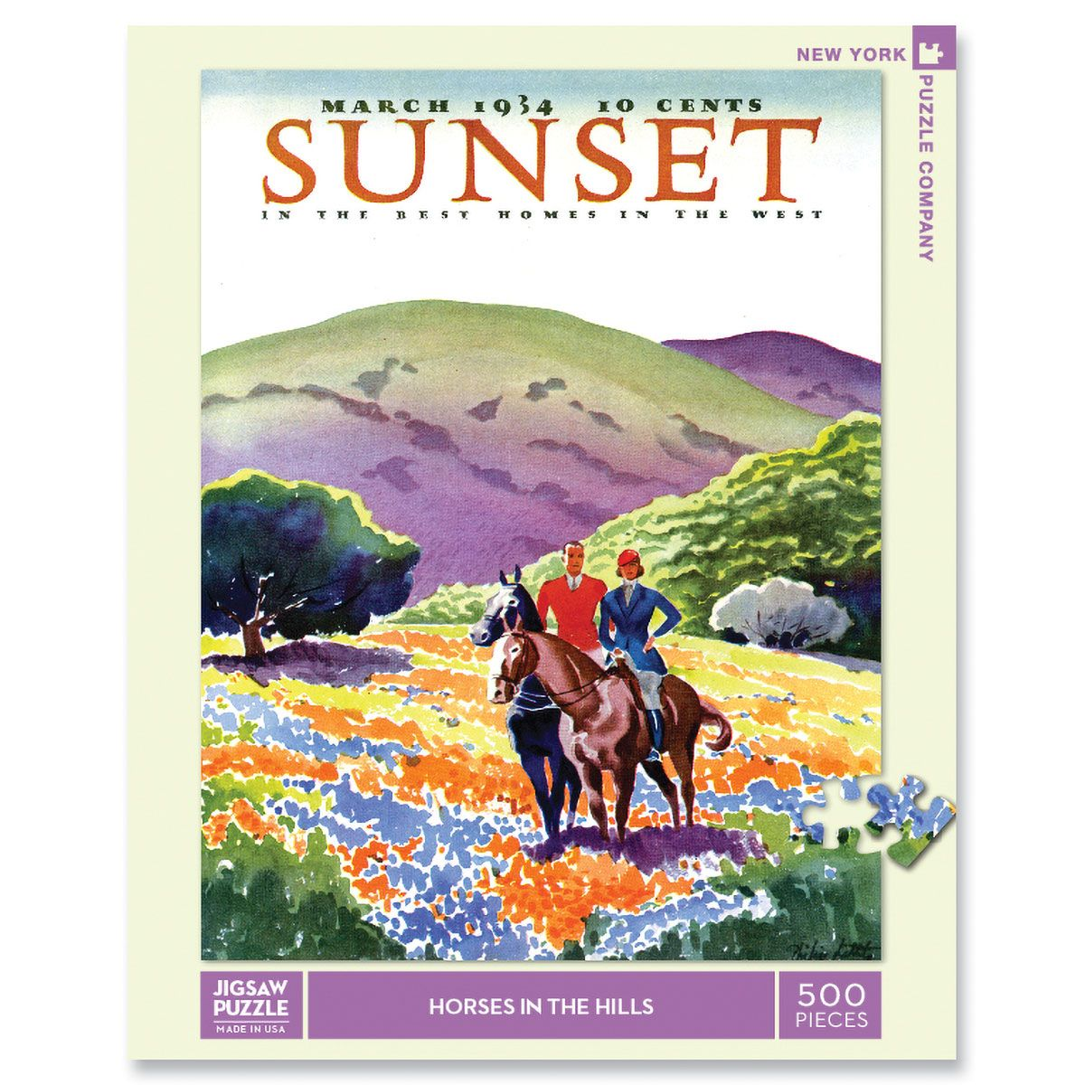 Horses in the Hills Puzzle
